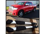 "05-15 Toyota Tacoma Crew Cab Aluminum 5"" Oval Nerf Bars Side Step OE Style Set"