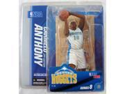 NBA McFarlane Carmelo Anthony Action Figure Series 8 Denver Nuggets MIP