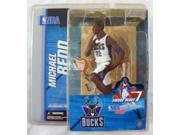 NBA McFarlane Michael Redd Action Figure Series 7 Rookie Figure Milwaukee Bucks