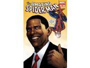 Amazing Spider-Man #583 Barack Obama Cover Second 2nd Printing (1963-2013) Marve