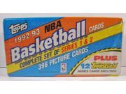 1992-93 Topps NBA Basketball Series 1 & 2 Complete Factory Set New Sealed