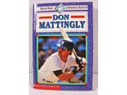 Sports Shots Collector's Mini Book #6 Don Mattingly New York Yankees Scholastic
