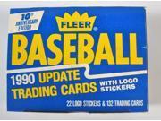1990 Fleer Update Baseball Card Factory Set New