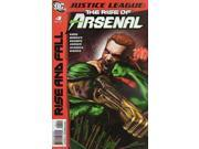 Justice League The Rise of Arsenal #4 (2010) DC Comics VF