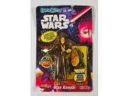 Star Wars Obi-Wan Kenobi Bend Ems 4.5 Inch Bendable Figure 1993 Just Toys MIP