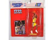 NBA Starting Lineup SLU Eddie Jones 5 1/2 Inch Action Figure Los Angeles Lakers