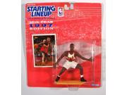 NBA Starting Lineup SLU Steve Smith 4 Inch Action Figure Atlanta Hawks 1997 Kenn