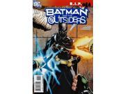 Batman and the Outsiders #13 Volume 2 (2007-2009) DC Comics VF/NM