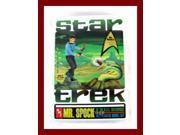 Star Trek The Original Series 1967 Style Mr Spock Model Kit In Tin Round2 New