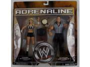 WWE Adrenaline Series 20 Trish Stratus and Shawn Michaels Action Figure 2-Pack M