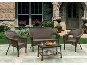 Earth Collection Outdoor Furniture, Patio 4 Piece Set