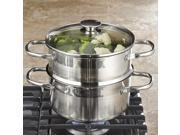 Oggi Stainless-Steel Vegetable Steamer Set, 5625