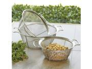 CHEFS Stainless Steel Mesh Colander, Set of 3
