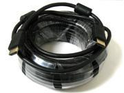 50 FT 50' Ft High Speed HDMI Ethernet M/M 3D Cable 1080p HDTV PS3 xBox DVD M-M
