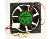 60mm 20mm New Case Fan 24V 17CFM 2wire Fluid Brg PC CPU Cooling Computer 508a*