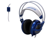 SteelSeries Siberia V2 Gaming Headset with Extended Cable - Blue