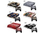 Doodle Deals Blond Weed Sexy Cool Skin Sticker for Ps3 Slim Consol 2 Matching PS4 Controller Stickers Platstation 4