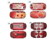 Decal Girl Decorative Skin/Decal Flower Of Fire for Sony PlayStation PSP Vita Handheld Game Console