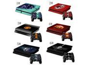 System Skins Faceplate Decal Mod Decal Style Skin fits original PS4 Gaming Console with 2 Controller Skins