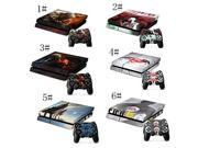 Skin Sticker For PS4 Playstation 4 Console + 2 Controllers Vinyl Decal Skins