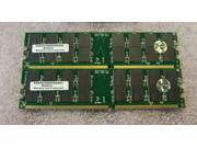 2x1GB PC2700 DDR 184pin Memory for Apple PowerMac G5