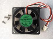 60mm 25mm New Case Fan 12V PC 18CFM Fluid Brg 3pin CPU Computer Cooling 840B*