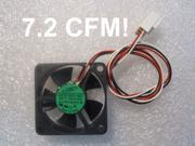35mm 10mm New Case Fan 12V 7.2CFM 4 Screws 3pin Fluid Brgs PC CPU Cooling 798b*