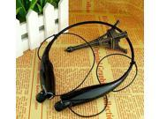 HV-800 Wireless Bluetooth Stereo Music Headset Universal Neckband For Cellphones /black