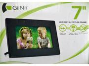 "GiiNii 7"" LED Digital Picture Frame ( Black )"