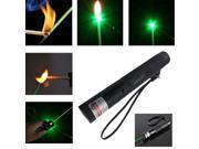 USA Green Laser Pointer Pen Adjustable Focus Zoom Beam Burning Lazer No battery