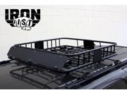 Universal Roof Rack Cargo Car Top Luggage Carrier Basket Traveling SUV Holder
