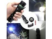 2000 Lumen Rechargeable Tactical T6 LED Flashlight Torch+18650 Battery&Charger