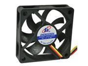60mm DC Cooling Fan for PC Case CPU Replacement