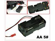 HQmade 4 x AA Battery Holder Case - 2+2 Stack - For RC Car / DIYer
