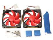 PCCooler V9 Dual 90mm Cooling Fans with Universal Fixed Slot -  For VGA Card Cooler Replacement