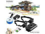 2 dogs In-Ground Underground Shock Collar Dog Training Pet Electric Fence