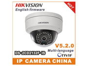 Hikvision DS-2CD2132F-IS 2.8mm Mini Dome POE IP Camera - 3Mp Audio I/O Interface