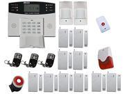 Generic FDL-452 Wireless Intelligent Home Security Alarm System with Lcd Display Gsm
