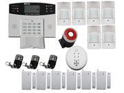 Generic FDL-457 Home Alarm System with Lcd Display Gsm Network Wireless Control