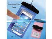 New PVC Sport Swimming drifting Underwater Phone Cover Waterproof Bag Case For Sony M2 D2303 For Sony V LT25i For Sony P LT22