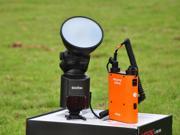 Godox Powerful Witstro AD-360 Bare Tube Portable Flash Flashgun Speedlite With PB960 Battery Power Pack Orange