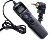 Godox Timer Remote Control Intervalometer Shutter Release Replacement for RS-60E3 Fit Canon Rebel T2 T3 Ti XT XTi X XS 2000