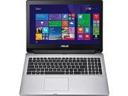 ASUS TP550LA Transformer Book Flip / 15.6 inch HD touchscreen / i5-4210U / 6GB / 1TB / WiFi / Bluetooth / Webcam / DVDRW / Windows 8.1