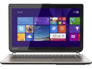 "Toshiba Satellite E45T 14"" Full HD 1080P Touch-Screen Laptop / Intel Core i5-5200U / 8GB Memory / 1TB Hard Drive / Webcam / Bluetooth / no optical drive / Windows 8.1 / Satin Gold"