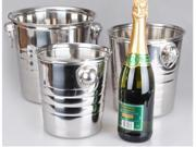 Stainless steel large Size wine bucket bar bright wine cooler 3L