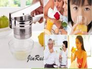 stainless steel juice maker handle Manuel  fruit juice potato masher