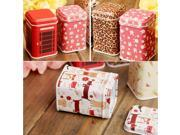 Small Metal Storage Box Case Container for Jewelry Candy Tea Coins