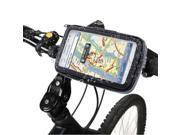 Bike Mount & Waterproof Touch Case for Samsung Galaxy Note / i9220 / N7000, Note II / N7100 , Note III / N9000 (Black)