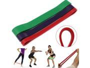 Crossfit Tension Resistance Band Exercise Loop Strength Training Fitness (Red)
