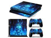 Skull Skin Sticker Cover For PS4 Playstation Console + 2 Controller Vinyl Decal